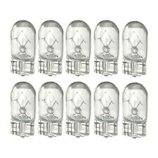 10x 3W T10 501 W5W Wedge Interior Side Light Marker Dashboard Dash Bulb Clear