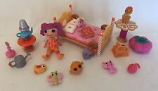 Lalaloopsy Mini Doll Peanut Big Top Sew Sleepy Bedroom Set