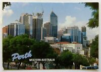Skyline of Perth Western Australia seen from Mount Street 1992 Postcard (P259)