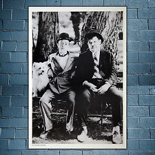 Photo Vintage Nr.103 Stan Laurel & Oliver Hardy - Size: 35x50 CM