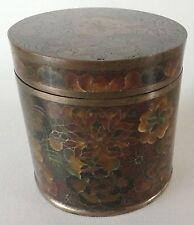 Vintage Millefleur CHINA CLOISONNE Cigarette BOX + MATCH BOX HOLDER 100 Flowers