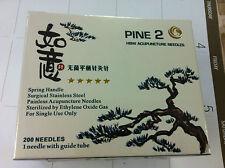 """(HWB)  #34x1.2"""" (0.22mmx30mm) Acupuncture needle 200pcs/box single tube"""