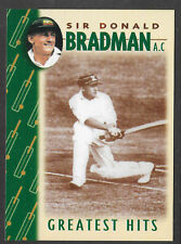 WEETBIX DON BRADMAN GREATEST HITS CRICKET CARD # 3 of 16