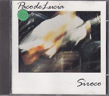 PACO DE LUCIA - siroco CD