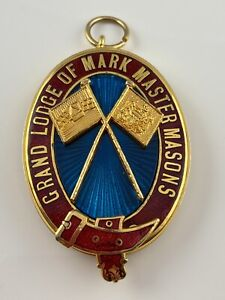 Masonic Mark Grand Past Master Rank Collar Jewel Grand Lodge Mark Master Masons