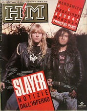 HM 84 1990 Slayer Princess Pang Aerosmith Bad English Negazione MC5 Man Manowar