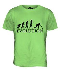 Schüssel Evolution Of Man Herren T-Shirt Oberteil Geschenk Krone Grün