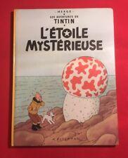 AVENTURES TINTIN L'ÉTOILE MYSTÉRIEUSE N'10B42 1975 HERGÉ CASTERMAN BON ÉTAT BD