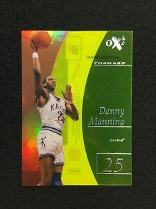 2012-13 Fleer Retro EX 2001 Essential Credentials Now #EX35 Danny Manning 05/35