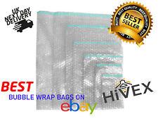 Bubble Wrap Bags Pouches Plain BP6 Clear - Cheapest