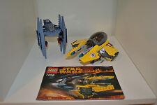 Lego Star Wars Jedi Starfighter & Vulture Droid 7256