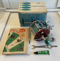 Vintage Penn 209 MS Saltwater Reel Level Wind Star Drag  Box Manual Lube NICE