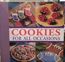 🍪 COOKIES for All Occasions: Recipes Children Holidays 2002 Cookbook Hardcover