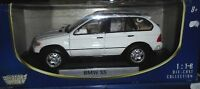 car 1/18 MOTORMAX 73105 BMW X5 (E53) 2001 WHITE NEW BOX