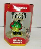 2 COLLECTIBLE WALT DISNEY MINNIE MOUSE CHRISTMAS TREE ORNAMENTS BLOWN GLASS F/S