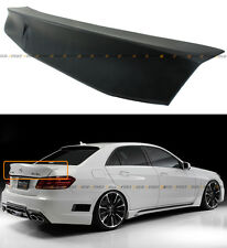 FOR 2010-16 MERCEDES BENZ W212 E-CLASS E63 AMG SEDAN VIP HIGHKICK TRUNK SPOILER