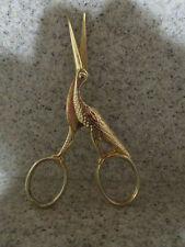 "Vintage Germany, 3.5/8"" Crane Sewing Scissors"