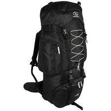 Highlander Rambler 88 trekking senderismo mochila viaje 88l negro plata
