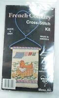 Chicken in Basket French Country Counted Cross Stitch NEW Kit