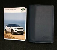 LAND ROVER DISCOVERY SPORT HANDBOOK OWNERS MANUAL WALLET+NAV 2014-2019 L-407