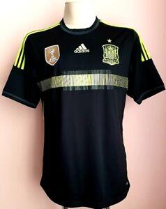 Spain 2013 - 2015 Away football Adidas shirt size L