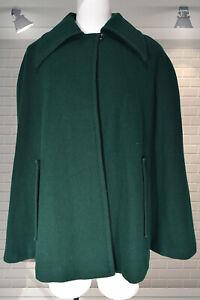 Original Vintage 1970s Short Wool Cape - Medium