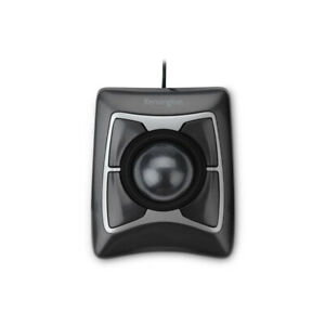 Kensington Technology Group K64325 Expert Black Trackball Scroll Mouse Usb/Ps2