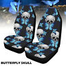 Universal Front Car / Van Seat Covers Butterfly Octopus Skull Protector