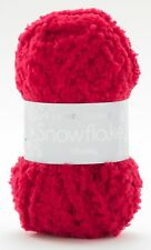 Sirdar Snuggly Snowflake Chunky - 1 Ball of Red 25g Yarn No F084