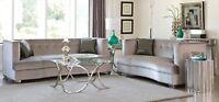 Coaster Furniture Caldwell Bling Sofa and Loveseat