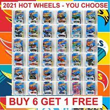2021 Hot Wheels Main Line Series You Pick - Brand New Hot Wheels 2021 Best Deals