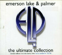 3 CD Emerson Lake & Palmer The Ultimate Collection UK 2004
