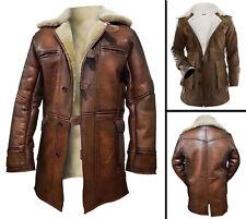 Leather Peacoats for Men | eBay