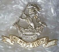 Badge- Duke of Wellington's West Riding Regiment Cap Badge Anodised Aluminium