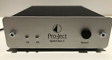 New listing Pro-ject Speed Box 2 - Turntable Power Supply Silver