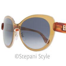 Balenciaga Oval Sunglasses BA2 45W Amber/Gold/Havana BA0002