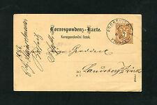 """Österreich P44  """"Prossnitz nach Landsberg""""  1886     (BA-7)"""