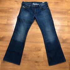 Diesel Zathan Jeans Regular Bootcut Wash 0073I Blue W32 L30