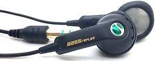 Sony ERICSSON HPM-64 HPM64 in-ear Solo Cuffie Stereo per Cuffie-Nero
