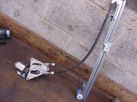 Citroen Synergie 806 94-02 Passenger left Front window regulator & Motor 2 pin