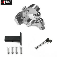 STAINLESS STEEL Pintle Hook Trailer Hitch Towing Ball For Ford Explorer F150