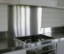 Polished Stainless Steel Cooker Splashback Mirror Kitchen Hob Splash Back Plate