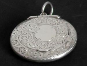 Silver Chateline Compact - Dates 1915 by Adie & Lovekin