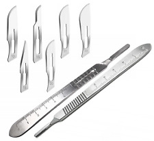 120 Surgical Sterile Scalpel Handle Blades 10 11 15 20 21 22 Surgical