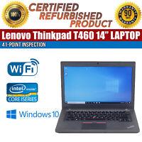 "C Grade Lenovo ThinkPad T460 14"" Intel i5 16GB RAM 256GB SSD Win 10 WiFi Laptop"