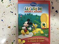 La Casa De Topolino DVD La Palla De Pluto + Il Uccello De Goofy Disney