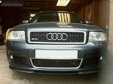 Genuine Audi A6 С5 Parachoques Delantero Divisor alerón labio Addon S6 RS6 PTN Trim Falda