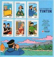 BLOC FEUILLET N° 109 NEUF XX  FRAICHEUR POSTALE - LES VOYAGES DE TINTIN