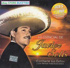 Javier Solis Lo Esencial 3CD+1DVD New Nuevo sealed