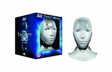 I, Robot Limited Edition Sunny Head. Blu-ray 3D+Blu-ray+DVD  Brand New